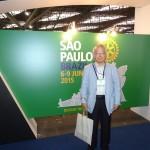 4日の朝5時にサンパウロに着きました。 会場で登録をしてきました。